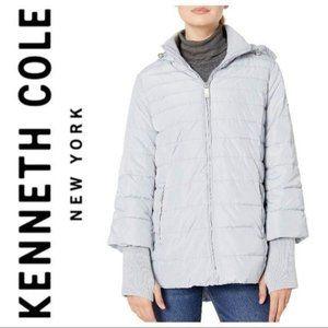KENNETH COLE Poly Bonded Rain COAT Jacket